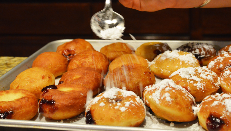 Sufganiyot Hanukkah Jelly Doughnuts - Chef Times Two