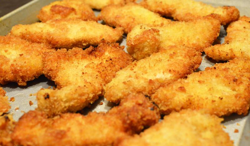 Israeli Chicken Schnitzel - Chef Times Two