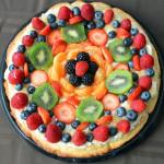 Super Bowl Fruit Pizza