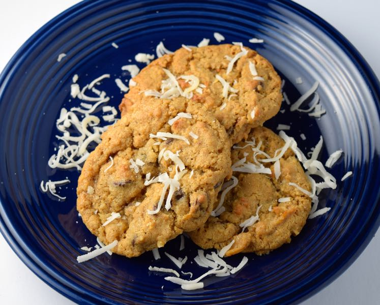 Chocolate Chip Coconut Oatmeal Cookies - Chef Times Two
