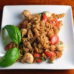 Whole Wheat Caprese Pasta Salad