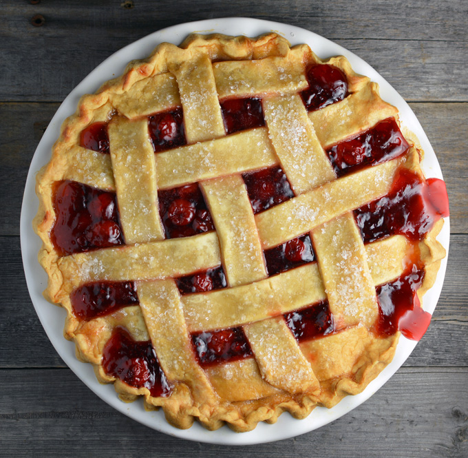 My Classic Cherry Pie is a warm and nostalgic comfort food. Serve just ...