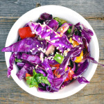 Asian Slaw With a Kick