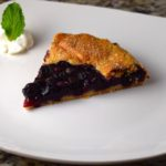 Rustic Blueberry Crostata