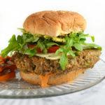 Homemade Vegan Veggie Burgers