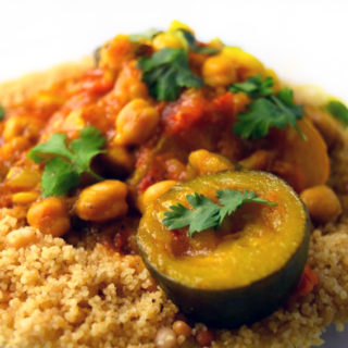 Moroccan Vegetable Tagine with Pine Nut Couscous
