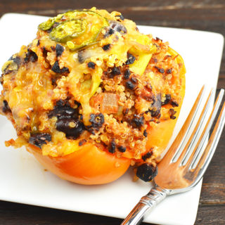 Tex-Mex Vegetarian Stuffed Peppers