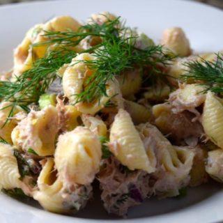 Dill Tuna Pasta Salad