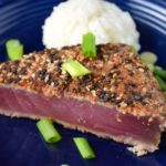 Spicy Rubbed Ahi Tuna Steak