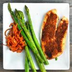 Cajun Tilapia With Asparagus