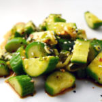 Marinated Asian Cucumber Salad
