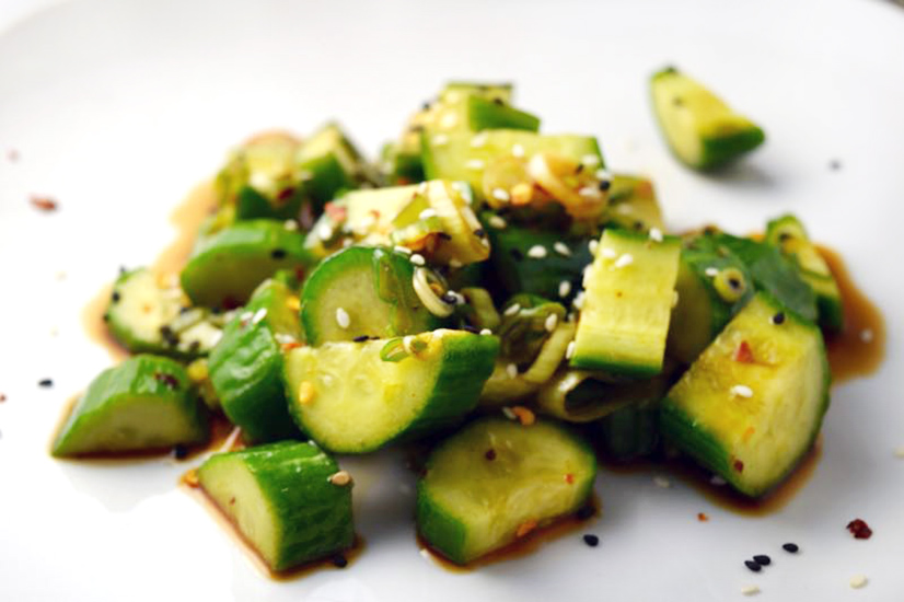 Marinated Asian Cucumber Salad