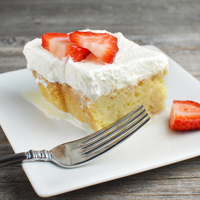Creamy Tres Leches Cake Chef Times Two