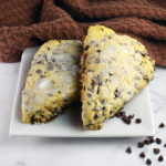 Gooey Chocolate Chip Scones