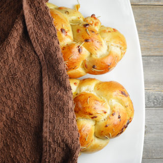 Italian Herb and Cheese Challah