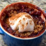 Perfect Plum Crumble