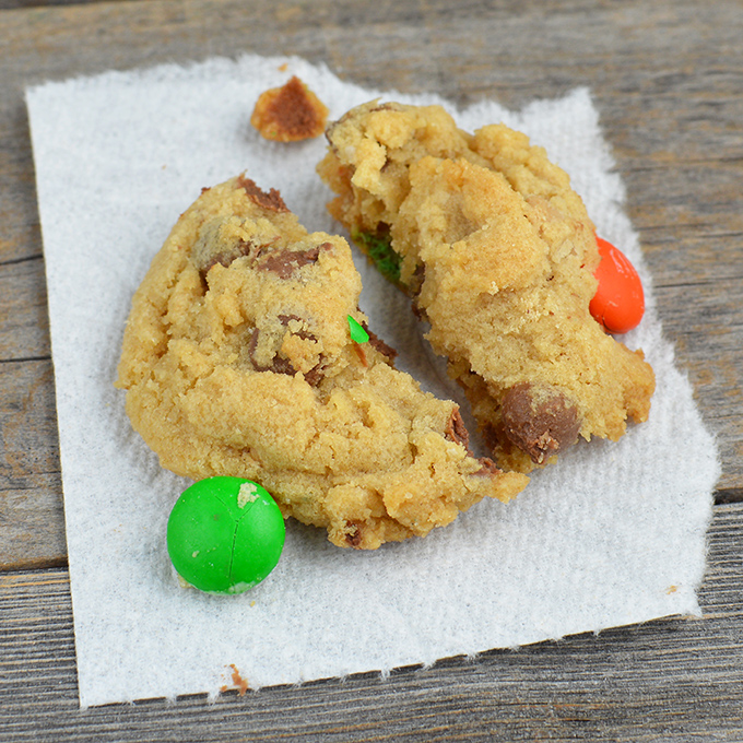 Chewy Everything Cookies